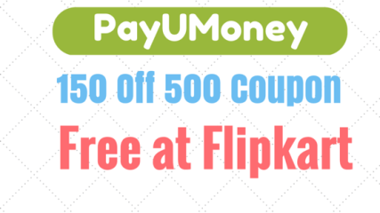 payumoney 150 off coupon