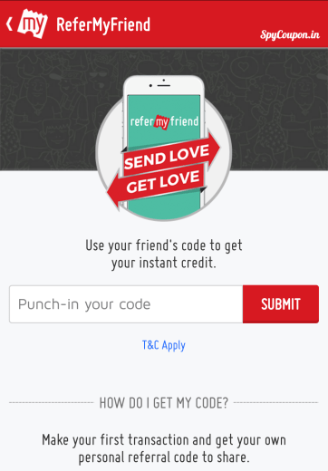bookmyshow 100 rs referral code