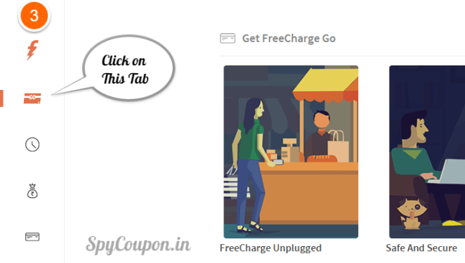 use freecharge wallet on flipkart