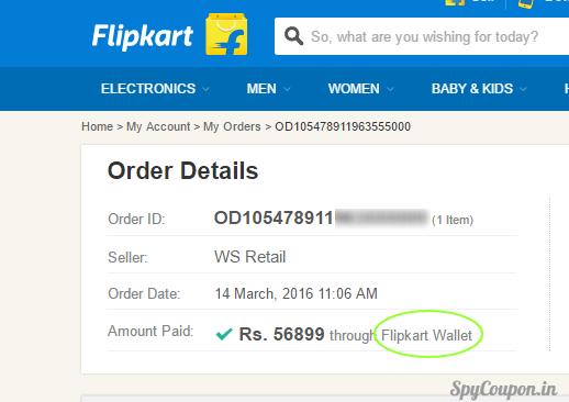 Use freecharge Go card on flipkart