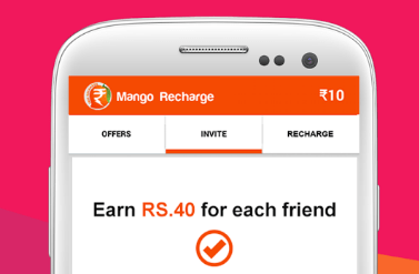 which app gives recharge