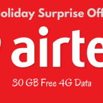 airtel holiday surprise