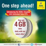 bsnl 444 chaukka offer