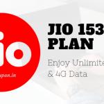 jio 153 plan details