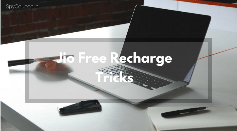 Jio Free Recharge Tricks 2019 : Unlimited 4G Internet