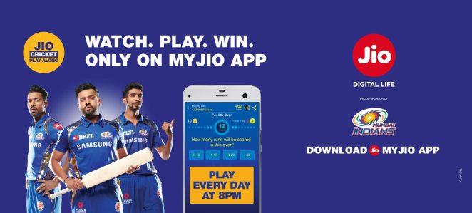 jio cricket play along download