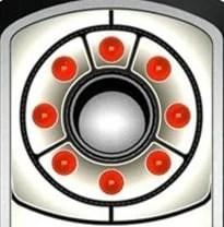 Infrared spy camera scanner finds hidden cameras unique illumination