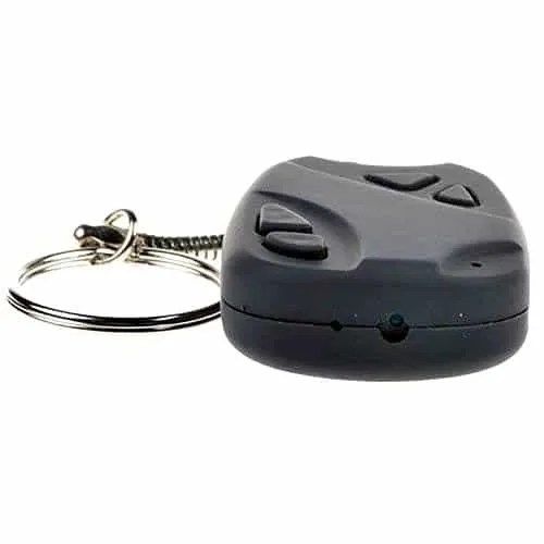 keyring spy camera car key fob