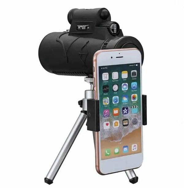 Smartphone zoom lens night vision