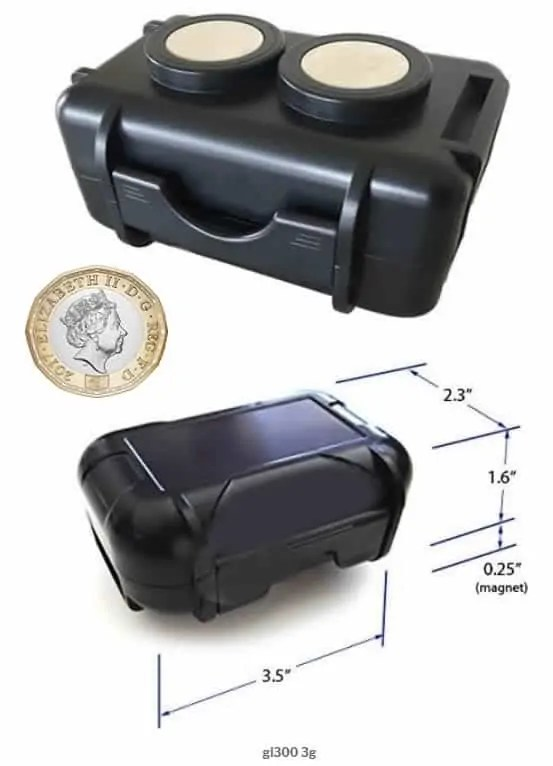 Personal GPS tracking magnetic case