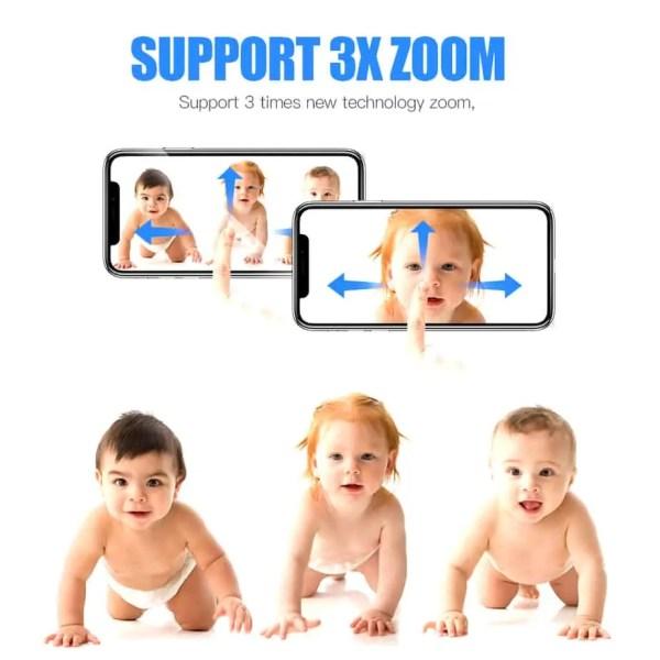 CCTV home security camera baby monitoring camera