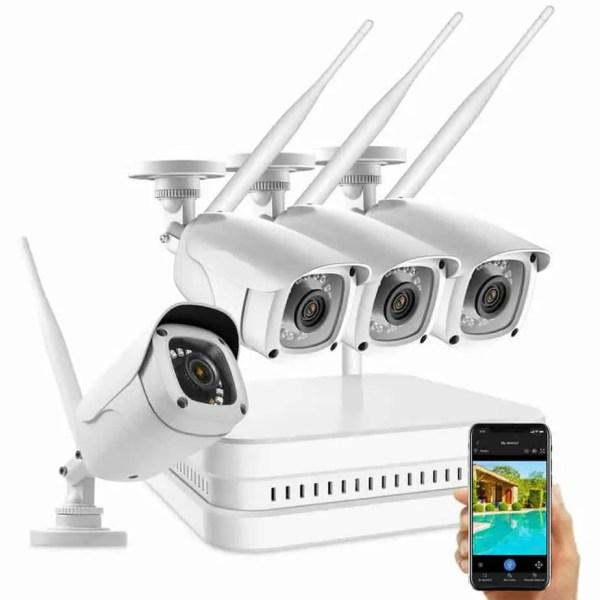 2 mega pixel Professional wireless CCTV