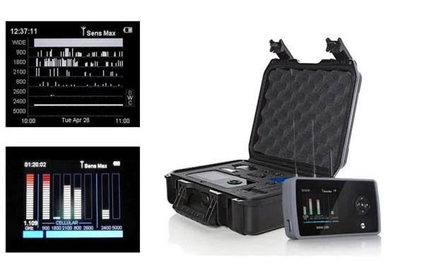 bug detector wam108t advanced spy scanning device