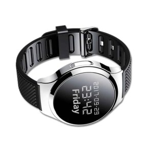Audio spy watch black style