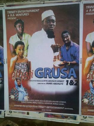 Alhaji Grusah - a new movie star