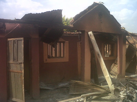 part of the carnage of the Fulani attack of southern kaduna