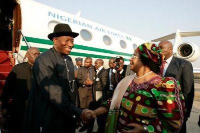 Jonathan and Malawi President