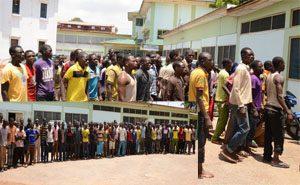 Nigeriennes illegal miners