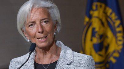 The head of the IMF, Christine Lagarde, said there would be regular checks on Ukraine's progress