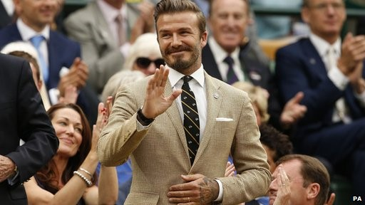 Beckham may not be so happy when he receives a bill from the taxman