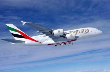 Emirates' A380 aircraft