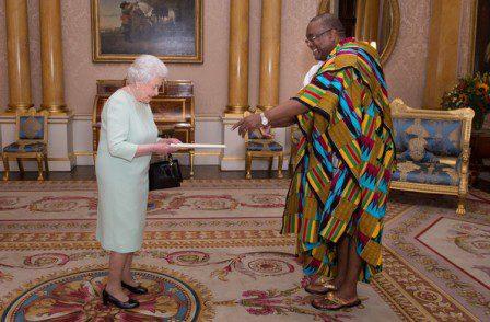 HE and Queen Elizabeth II
