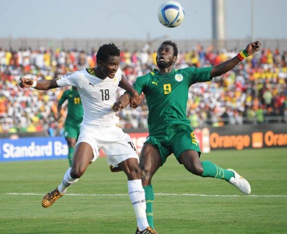 Daniel Amartey in action for Ghana against Senegal.