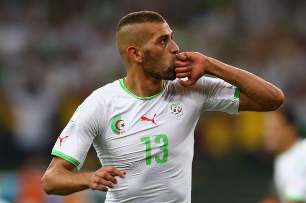 Islam Slimani: Algeria will approach Ghana game calmly