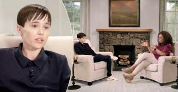 """Elliot Page in lacrime parla della sua transizione da Ophra Winfrey: """"Ho sempre saputo di essere un maschio e finalmente esisto"""" (VIDEO)"""