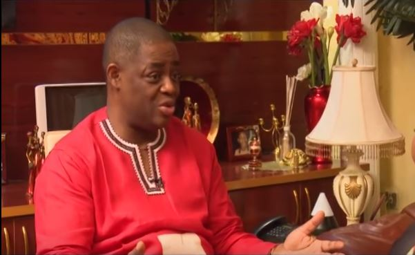 Fani-Kayode to Melaye: 'A Senator should not behave that way'