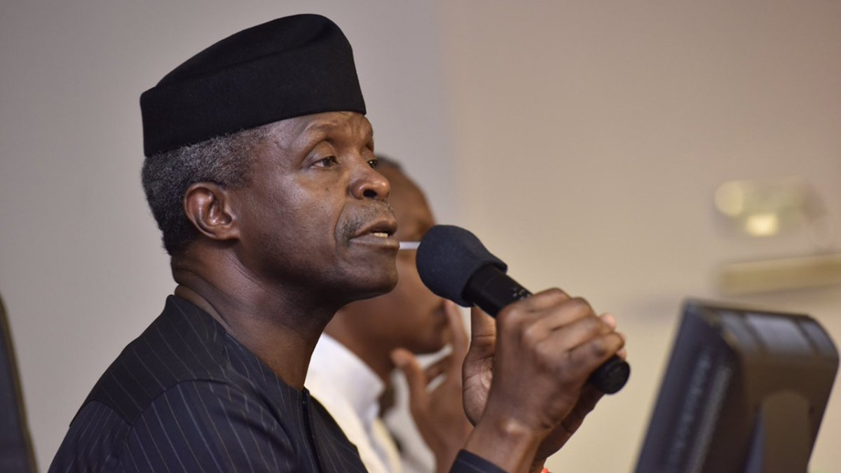 Osinbajo Bashes Naysayers, Says He Has Not Resigned