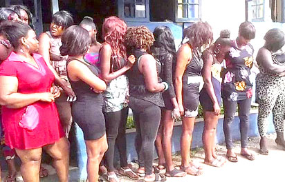 Male Prostitute Hotel Opens In Port Harcourt, Come And See How Women Are Rushing The Place, Our Clients Prefer 'TakeAway' Services And The Least Is N5,000 Per Male Prostitute Say Operators