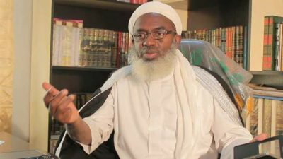 You are a good person when you praise Buhari, but you are a looter when you criticise him, says Gumi