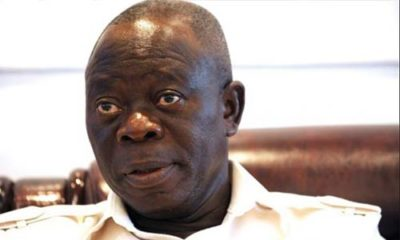DSS Expose How Oshiomhole Made 55 Million Dollars From APC Primaries,Tells Buhari To Remove And Prosecute Him Immediately