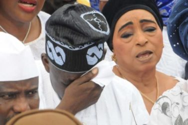 BREAKING NEWS: Bola Tinubu Losses Wife