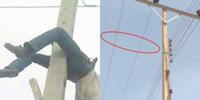25-year-old man electrocuted while hanging Buhari's picture on an electric pole