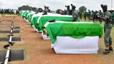 Metele Attack: Army Buries Slain Soldiers
