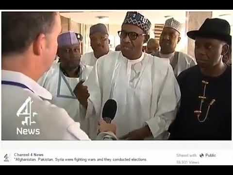 FLASHBACK: What Buhari said when INEC postponed 2015 election