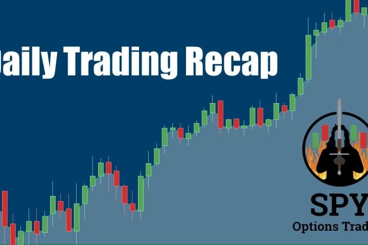 Day Trading Recap