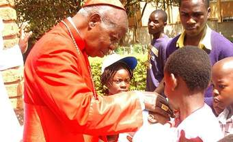 Tighten and implement police and road safety laws to reduce accidents: Cardinal Emanuel Wamala tips Uganda Police