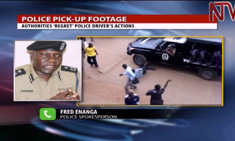 He is innocent: Police driver acquitted of knocking Besigye supporter!