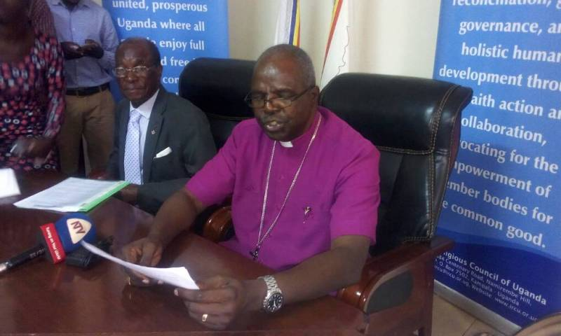 Arch Bishop Luke Orombi urges Gov't,Omusinga to dialogue: You can't attain middle income status amidst instability