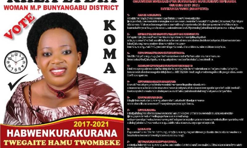Bunyangabu District Politics: 10 Reasons why little known Lydia Kiiza may give gender minister a running nose.