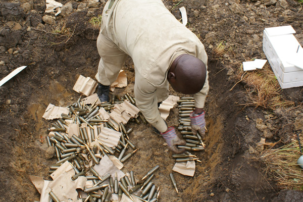 Business woman arrested with explosives at the south Sudan border