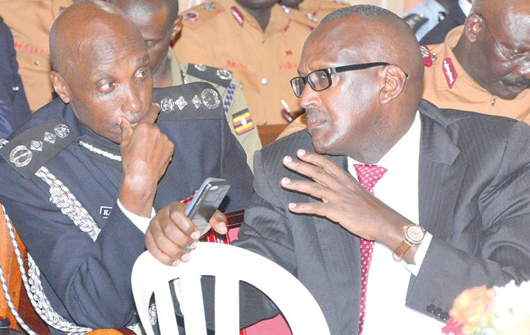 I'm Tired Of Your Personal Cheap Wars, Go Graze Your Goats In Mubende: Museveni Fires IGP Kayihura!