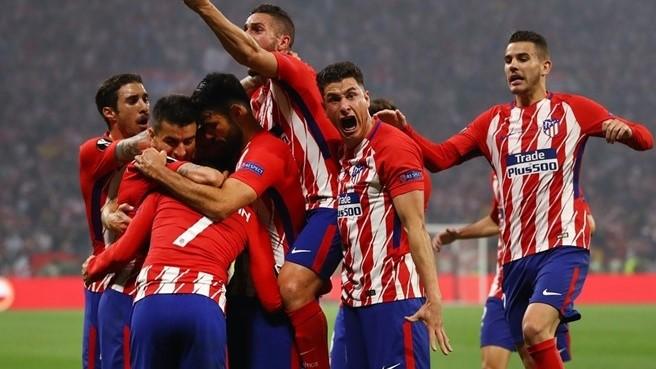 Griezman Leads Atletico Madrid To Europa League