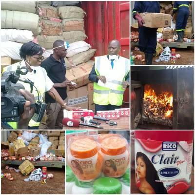 URA Destroys Impounded Goods Worth Shs2.3B