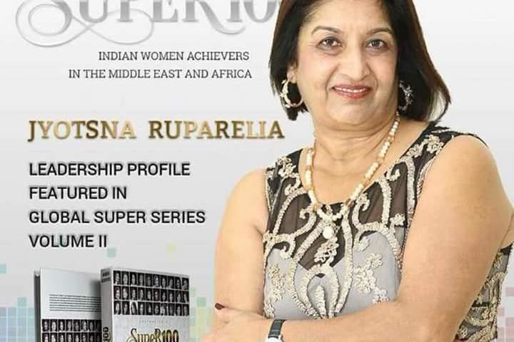 Jyotsna Rupareria Ranked Among India's Top 100 Super women 2018!