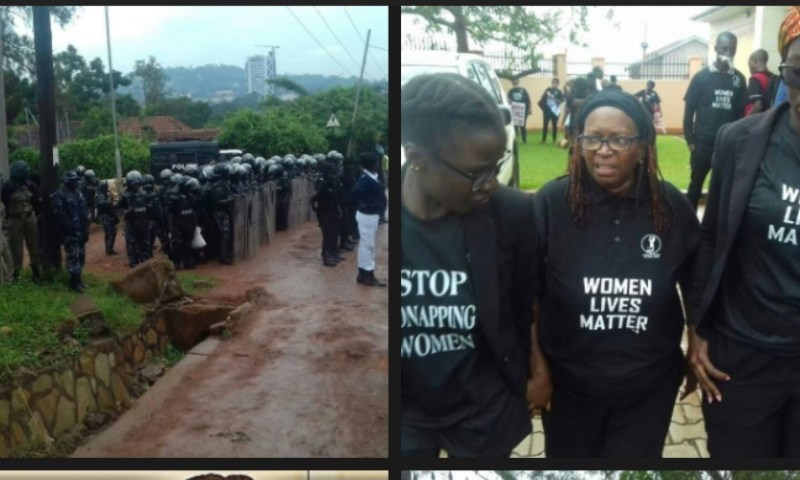 Scores Arrested As Women Activists Protests Over Rampant Kidnaps, Murders