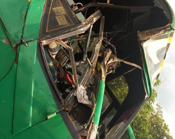 Link Bus Fatal Accident Kills one, Injures 15